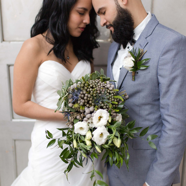 Bee Inspired Events - Bridal bouquet + corsage