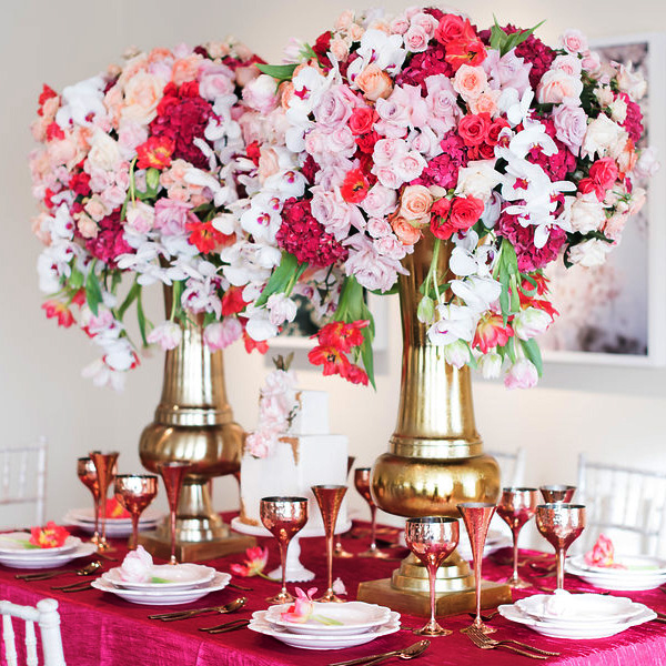 Bee Inspired Events - Impressive tall florals