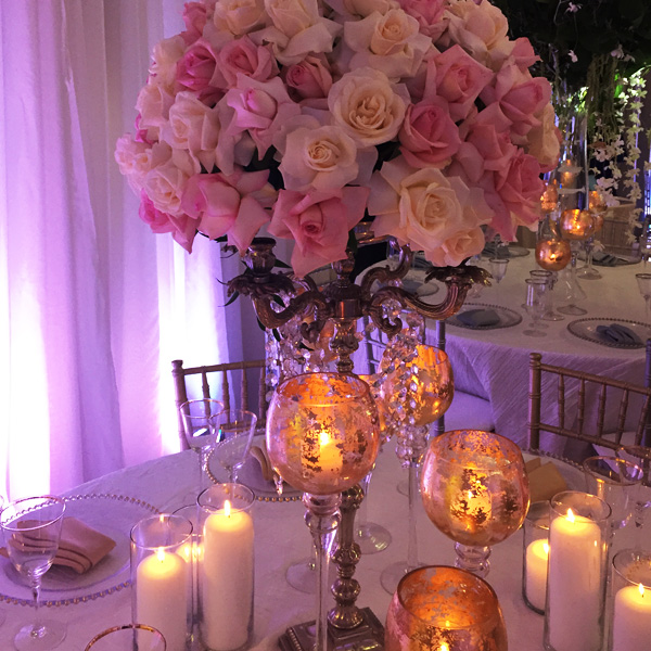 Bee Inspired Events - Elegant tablescape