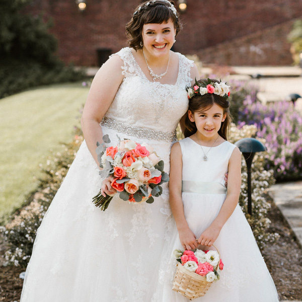 Bee Inspired Events - Bridal Bouquet + Flower Crown