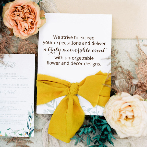 Bee Inspired Events - Services - Contact us