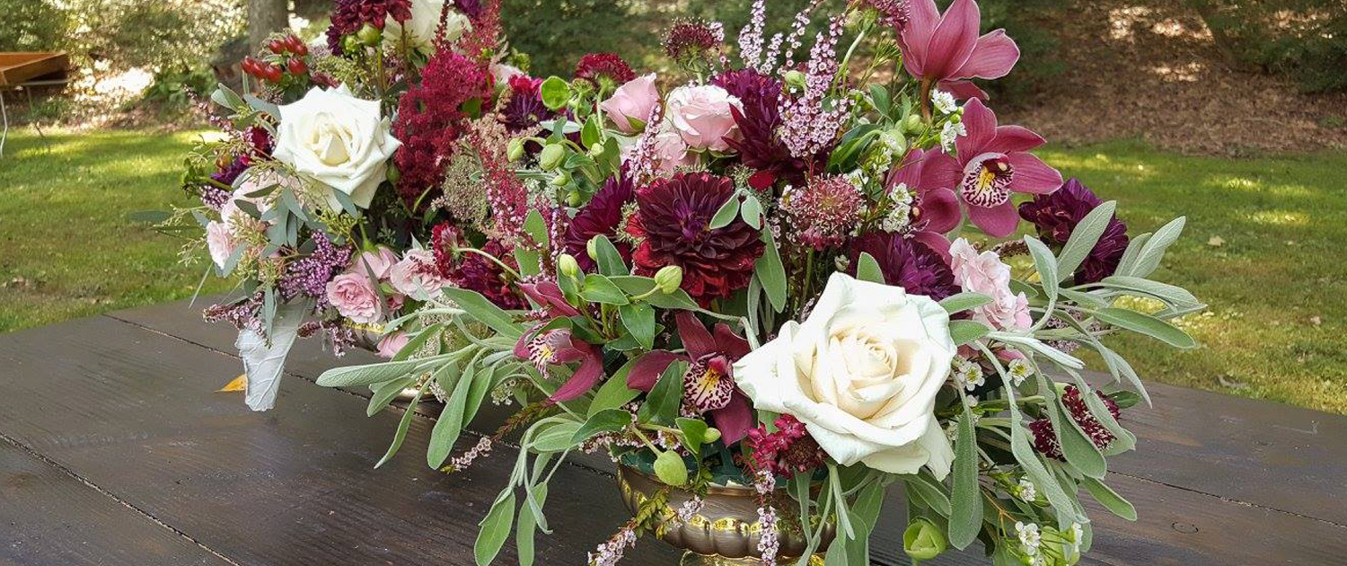 Bee Inspired Events - Flower centerpieces for Bohemian style wedding